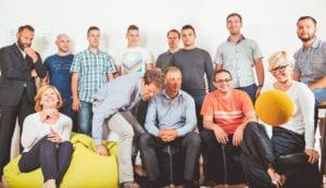 ekipa podjetja Intera