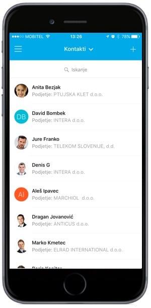 nove funkcionalnosti mobilne aplikacije