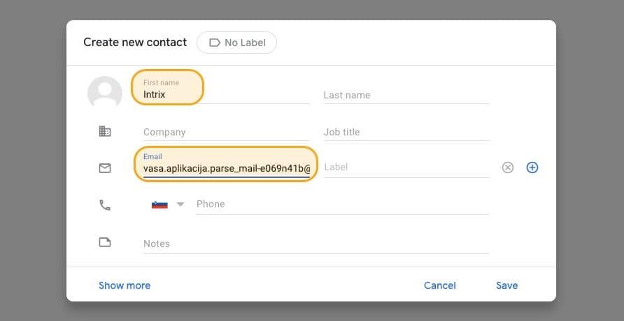 Gmail-dodaj-kontakt