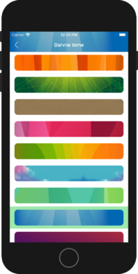 iOS mobilna aplikacija Intrix