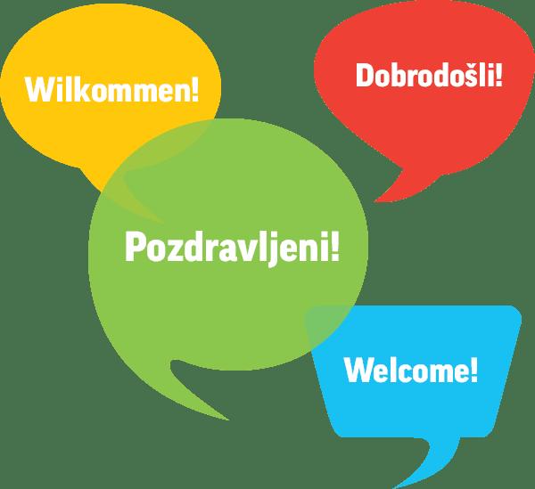 slovenski hrvaški angleški nemški crm