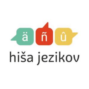 Hiša jezikov logo