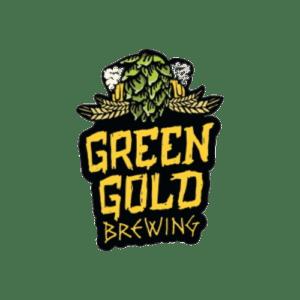 green gold brewing logo